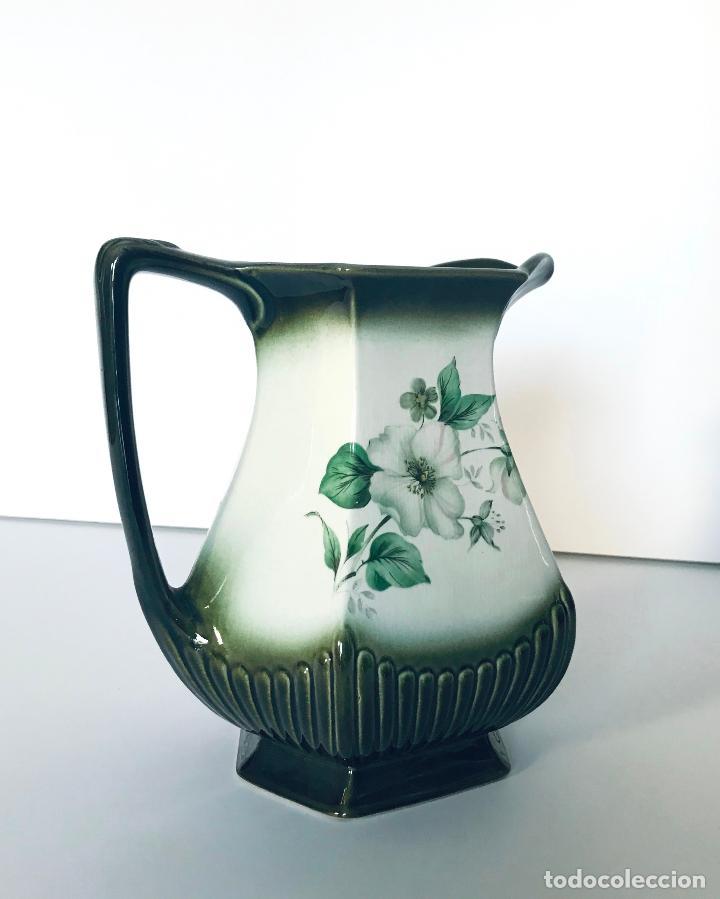 ANTIGUO JARRÓN INGLÉS DE PORCELANA. AÑOS 30/40 (Antigüedades - Porcelanas y Cerámicas - Inglesa, Bristol y Otros)