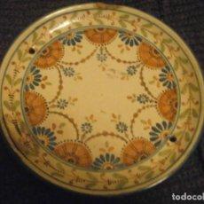 Antigüedades: ANTIGUO PLATO DE COLECCIÓN TALAVERA RUIZ DE LUNA 17 CM. DIÁMETRO MARCA EN LA BASE. Lote 229900055