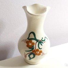 Antigüedades: PEQUEÑO JARRÓN O FLORERO. ADORNO FLORAL. Lote 229931080