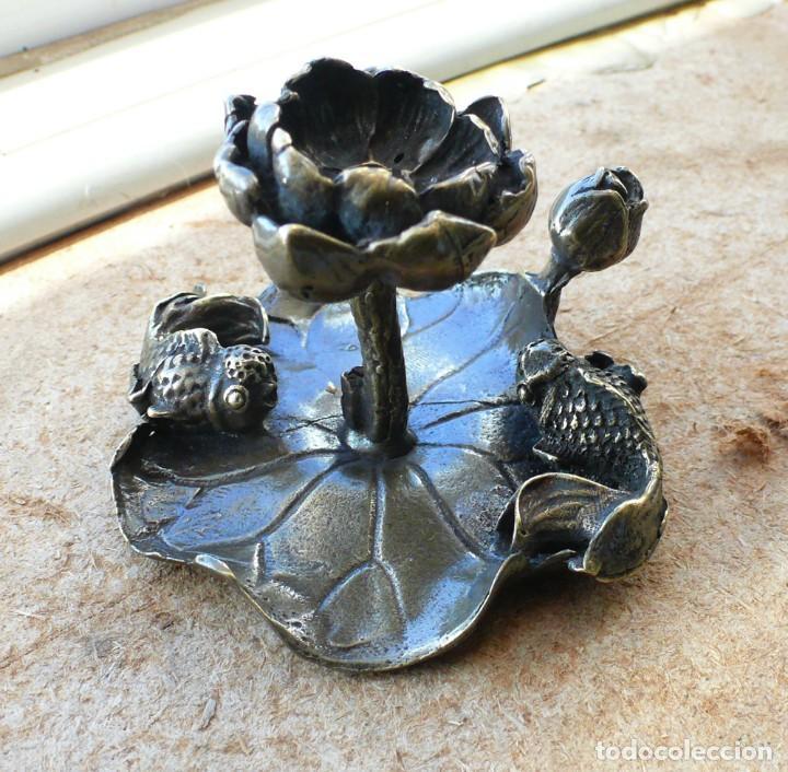 Antigüedades: escultura en miniatura. bronce .LOTO - Foto 11 - 229961905