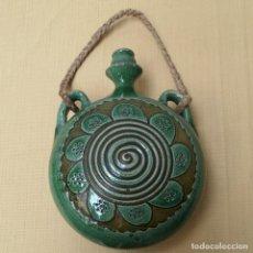 Antigüedades: CANTIMPLORA DE CERÁMICA. Lote 229980235
