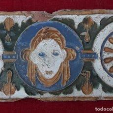 Antigüedades: AZULEJO ANTIGUO DE TOLEDO - SIGLO XVI - ARISTA O CUENCA - RENACIMIENTO.. Lote 230001595