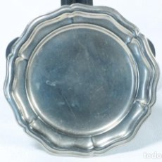 Antigüedades: PEQUEÑA BANDEJA PLATEADA. Lote 230023090