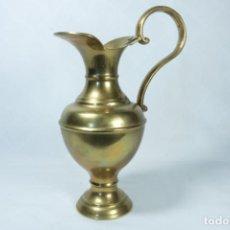 Antigüedades: PRECIOSO JARRÓN DE BRONCE Y LATÓN DE ORIGEN INDIO. Lote 230030120