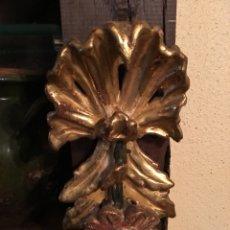 Antiquités: LOTE 2 FRAGMENTOS DE RETABLO XVIII. Lote 230047250
