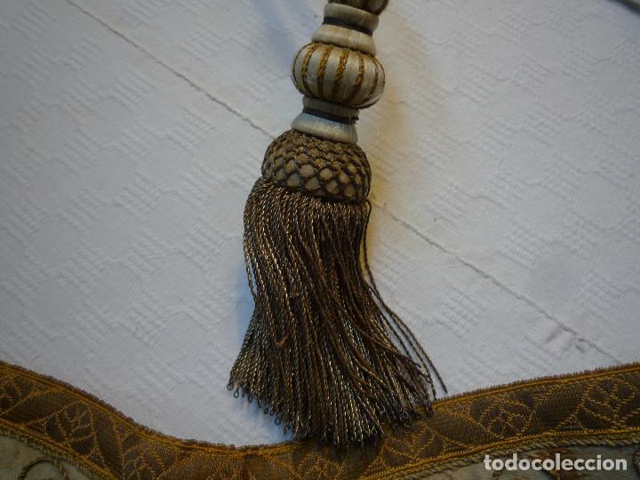Antigüedades: Alzacuello para ornamento sacerdotal - Foto 8 - 230053630