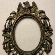 Antigüedades: MARCO ESTILO IMPERIO BRONCE (S.XIX). Lote 230072265