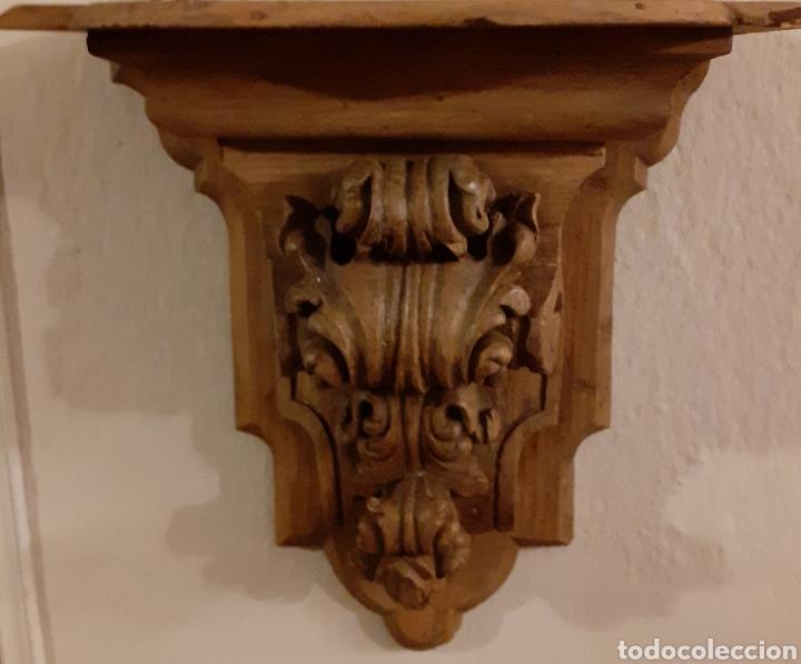 MÉNSULAS (2) (Antigüedades - Muebles Antiguos - Ménsulas Antiguas)