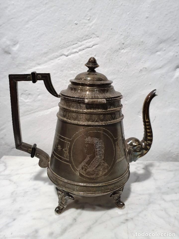 Antigüedades: JUEGO DE CAFE PLATA MACIZA DE ROVIRA CARRERAS - Foto 5 - 230123345
