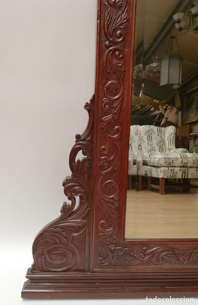 Antigüedades: Espejo con Luna Biselada - Foto 2 - 230155160