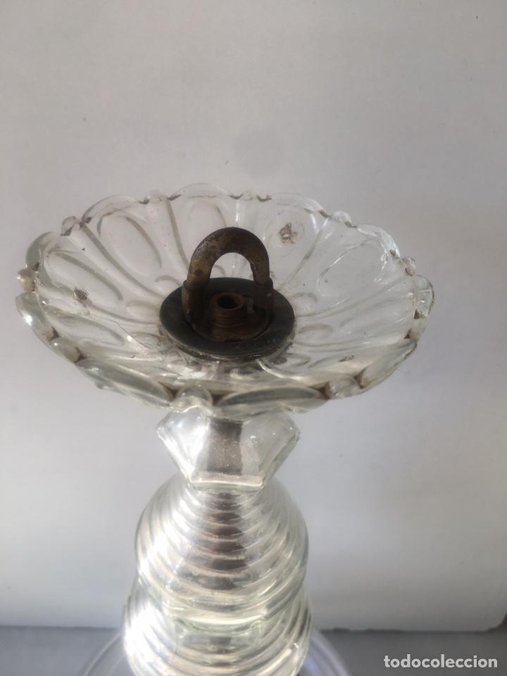 Antigüedades: Aplique cristal techo - Foto 5 - 230184790