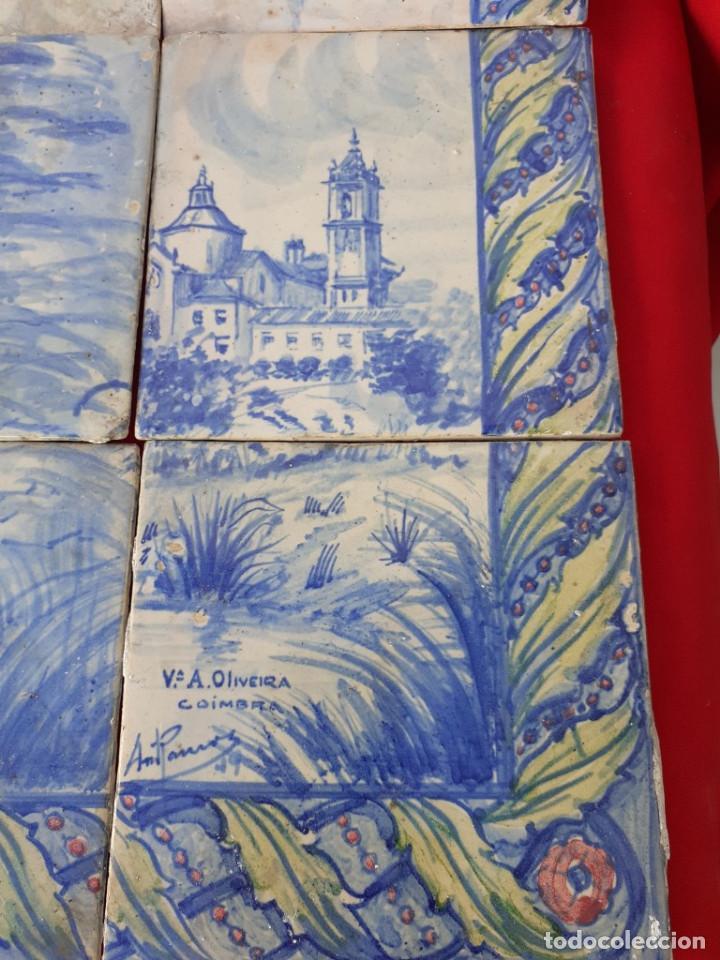 Antigüedades: azulejos antigos de coimbra-portugal - Foto 2 - 230190190