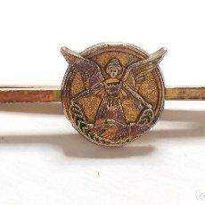 Antigüedades: PASADOR DE CORBATA VINTAGE. ANGEL. PINZA. Lote 230245550