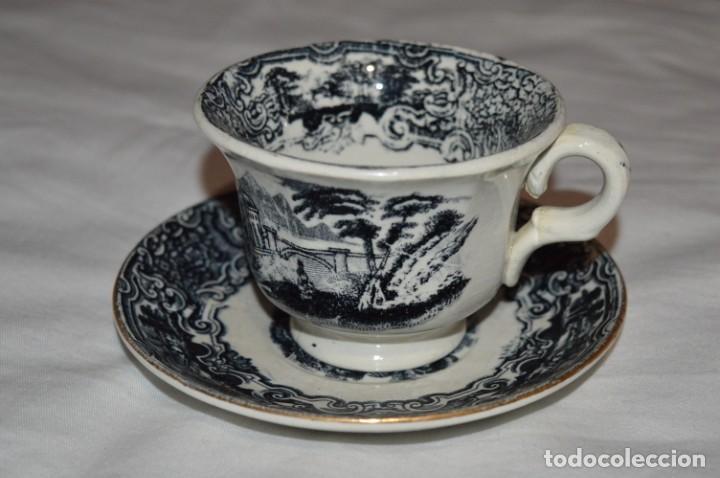Antigüedades: Antiguos / De LA CARTUJA / PICKMAN SA - SEVILLA - TAZA/PLATO café ¡Mira fotos y detalles! / LOTE 03 - Foto 2 - 230268245