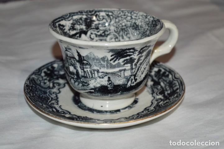 Antigüedades: Antiguos / De LA CARTUJA / PICKMAN SA - SEVILLA - TAZA/PLATO café ¡Mira fotos y detalles! / LOTE 03 - Foto 3 - 230268245
