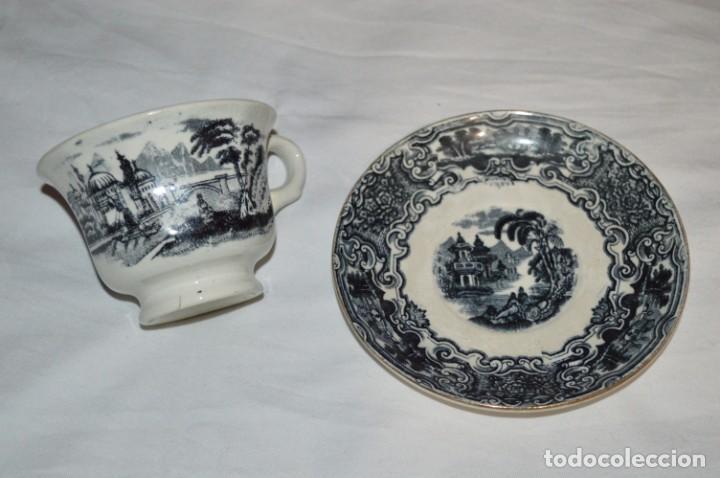 Antigüedades: Antiguos / De LA CARTUJA / PICKMAN SA - SEVILLA - TAZA/PLATO café ¡Mira fotos y detalles! / LOTE 03 - Foto 4 - 230268245