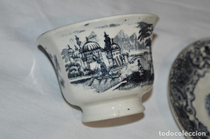 Antigüedades: Antiguos / De LA CARTUJA / PICKMAN SA - SEVILLA - TAZA/PLATO café ¡Mira fotos y detalles! / LOTE 03 - Foto 5 - 230268245