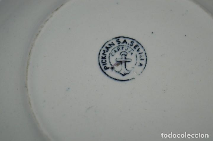 Antigüedades: Antiguos / De LA CARTUJA / PICKMAN SA - SEVILLA - TAZA/PLATO café ¡Mira fotos y detalles! / LOTE 03 - Foto 9 - 230268245