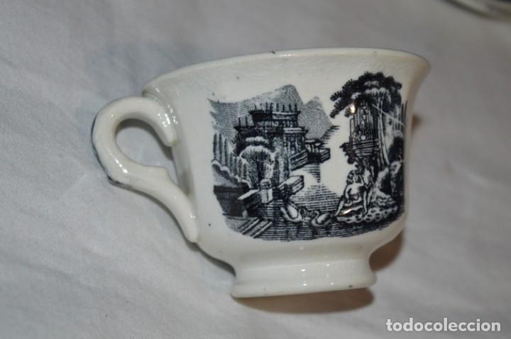 Antigüedades: Antiguos / De LA CARTUJA / PICKMAN SA - SEVILLA - TAZA/PLATOS café ¡Mira fotos y detalles! / LOTE 04 - Foto 5 - 230268390