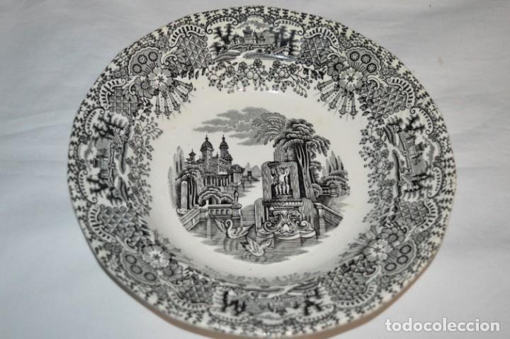 Antigüedades: Antiguos / De LA CARTUJA / PICKMAN SA - SEVILLA - 2 PLATOS HONDOS ¡Mira fotos y detalles! / LOTE 06 - Foto 3 - 230268655
