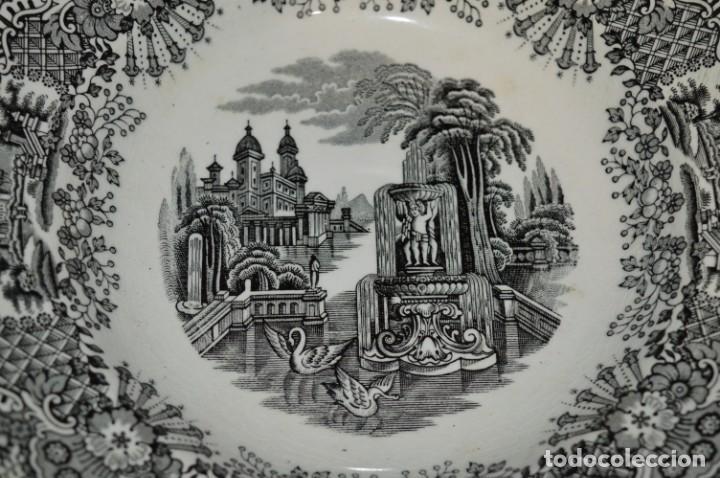 Antigüedades: Antiguos / De LA CARTUJA / PICKMAN SA - SEVILLA - 2 PLATOS HONDOS ¡Mira fotos y detalles! / LOTE 06 - Foto 4 - 230268655
