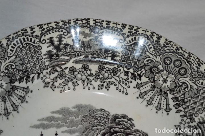 Antigüedades: Antiguos / De LA CARTUJA / PICKMAN SA - SEVILLA - 2 PLATOS HONDOS ¡Mira fotos y detalles! / LOTE 06 - Foto 5 - 230268655