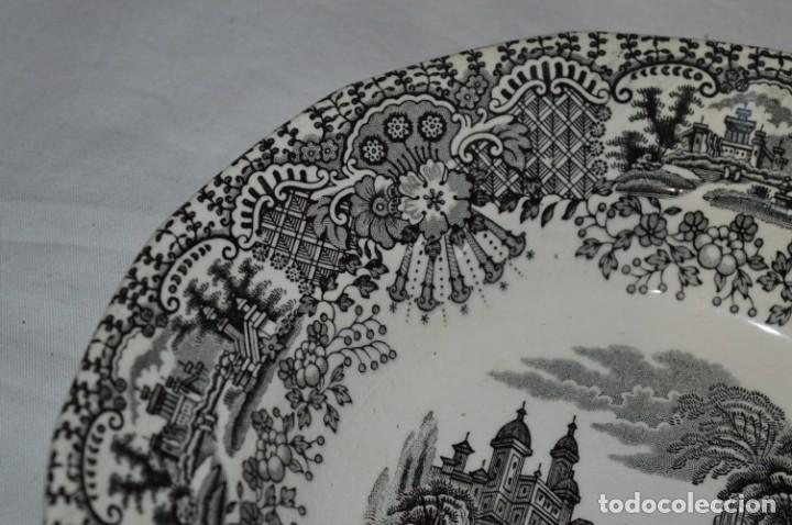 Antigüedades: Antiguos / De LA CARTUJA / PICKMAN SA - SEVILLA - 2 PLATOS HONDOS ¡Mira fotos y detalles! / LOTE 06 - Foto 6 - 230268655
