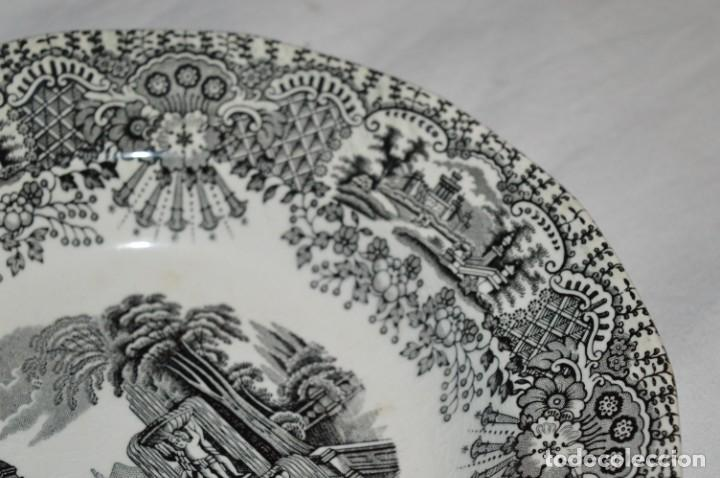 Antigüedades: Antiguos / De LA CARTUJA / PICKMAN SA - SEVILLA - 2 PLATOS HONDOS ¡Mira fotos y detalles! / LOTE 06 - Foto 7 - 230268655