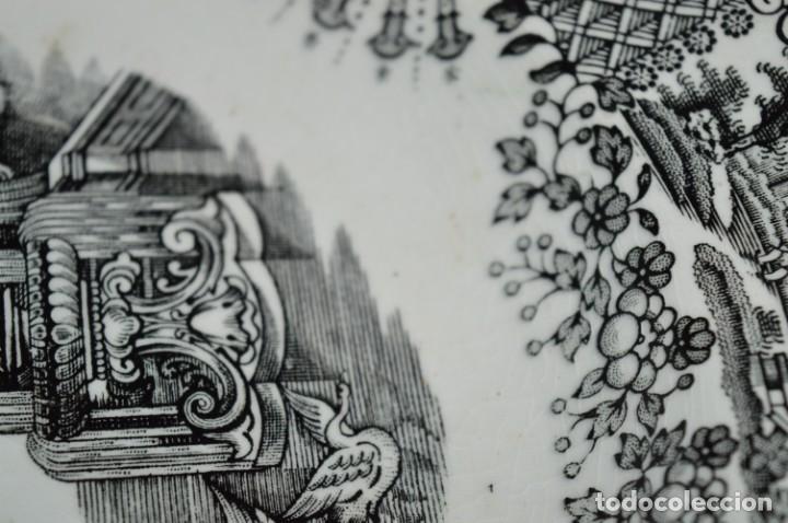 Antigüedades: Antiguos / De LA CARTUJA / PICKMAN SA - SEVILLA - 2 PLATOS HONDOS ¡Mira fotos y detalles! / LOTE 06 - Foto 8 - 230268655