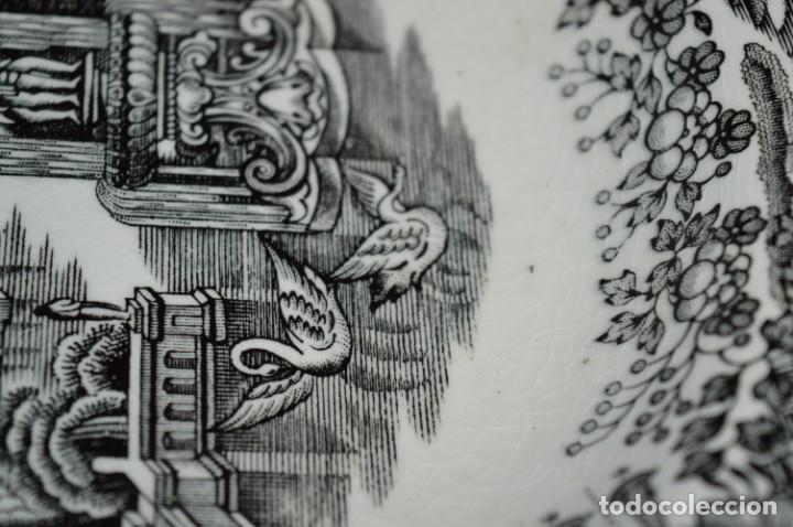 Antigüedades: Antiguos / De LA CARTUJA / PICKMAN SA - SEVILLA - 2 PLATOS HONDOS ¡Mira fotos y detalles! / LOTE 06 - Foto 9 - 230268655