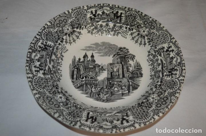 Antigüedades: Antiguos / De LA CARTUJA / PICKMAN SA - SEVILLA - 2 PLATOS HONDOS ¡Mira fotos y detalles! / LOTE 06 - Foto 15 - 230268655