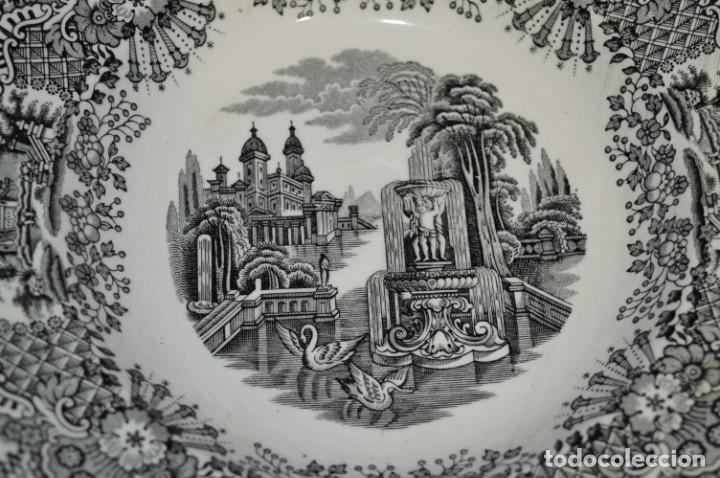 Antigüedades: Antiguos / De LA CARTUJA / PICKMAN SA - SEVILLA - 2 PLATOS HONDOS ¡Mira fotos y detalles! / LOTE 06 - Foto 16 - 230268655