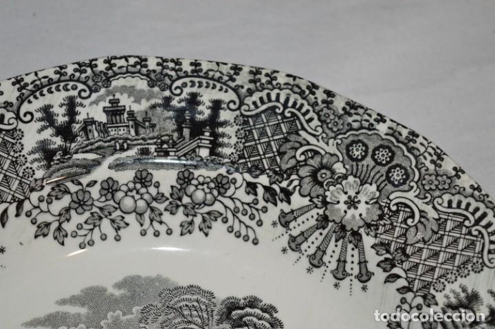 Antigüedades: Antiguos / De LA CARTUJA / PICKMAN SA - SEVILLA - 2 PLATOS HONDOS ¡Mira fotos y detalles! / LOTE 06 - Foto 17 - 230268655