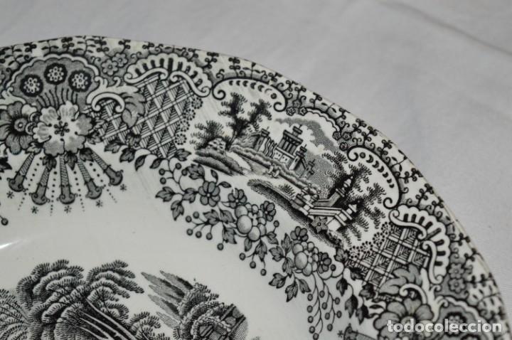 Antigüedades: Antiguos / De LA CARTUJA / PICKMAN SA - SEVILLA - 2 PLATOS HONDOS ¡Mira fotos y detalles! / LOTE 06 - Foto 19 - 230268655
