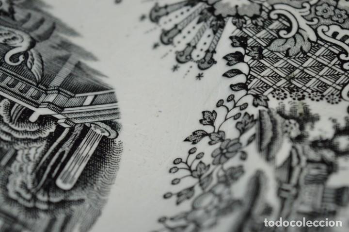 Antigüedades: Antiguos / De LA CARTUJA / PICKMAN SA - SEVILLA - 2 PLATOS HONDOS ¡Mira fotos y detalles! / LOTE 06 - Foto 20 - 230268655