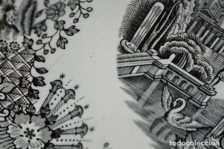 Antigüedades: Antiguos / De LA CARTUJA / PICKMAN SA - SEVILLA - 2 PLATOS HONDOS ¡Mira fotos y detalles! / LOTE 06 - Foto 21 - 230268655