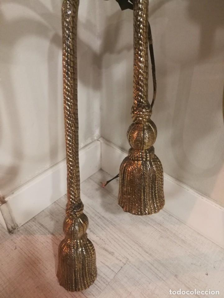 Antigüedades: IMPRESIONANTES apliques de bronce macizo dos unidades 60 x 90 - Foto 4 - 230426490