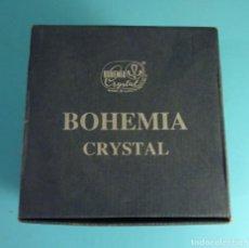 Antigüedades: BOMBONERA DE CRISTAL AL 24 % DE ÓXIDO DE PLOMO. MARCA BOHEMIA CRYSTAL. FABRICADO EN REP. CHECA. Lote 230506075