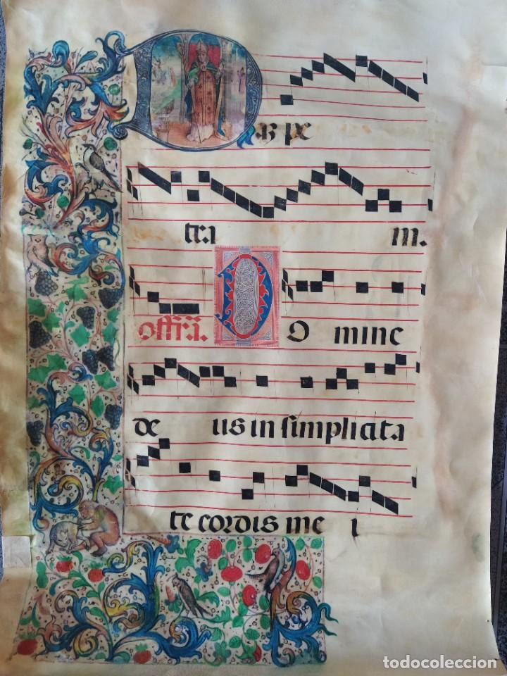 CANTORAL SIGLO XVI (Antigüedades - Religiosas - Artículos Religiosos para Liturgias Antiguas)