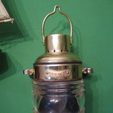 Antiquités: APLIQUE FAROL NAUTICO DE PARED. Lote 230589985