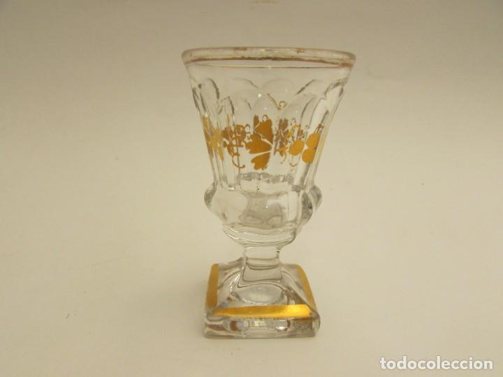 COPA DE LICOR EN CRISTAL DE LA GRANJA S.XIX? ( NO COMPRAR RESERVADO MADRID) (Antigüedades - Cristal y Vidrio - La Granja)
