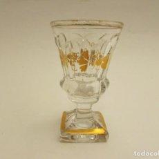 Antiquités: COPA DE LICOR EN CRISTAL DE LA GRANJA S.XIX? ( NO COMPRAR RESERVADO MADRID). Lote 230609480
