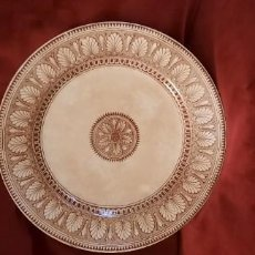 Antiquités: ANTIGUO PLATO DE LA CARTUJA DE SEVILLA. PICKMAN. Lote 230705280