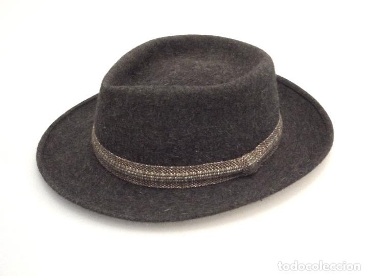 ANTIGUO SOMBRERO DE FIELTRO - GOLDENFELT - GASOL (BARCELONA) - TALLA 57- 58. (Antigüedades - Moda - Sombreros Antiguos)