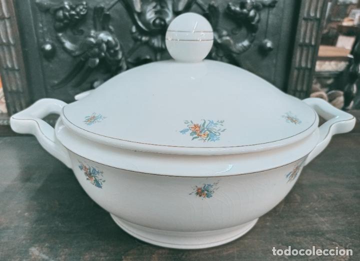 SOPERA PORCELANA DE PRINCIPIOS DE 1900. VER FOTOS (Antigüedades - Porcelanas y Cerámicas - Otras)