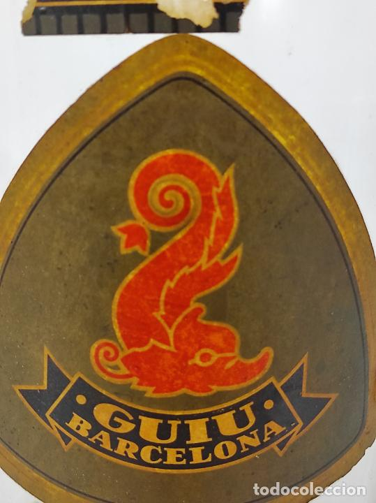 Antigüedades: Gran Botella de Perfume a Granel - Frasco con Grifo - Colonia Guiu, Barcelona - Años 20 - Foto 5 - 230814400
