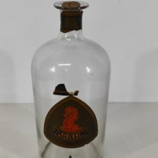 Antigüedades: GRAN BOTELLA DE PERFUME A GRANEL - FRASCO CON GRIFO - COLONIA GUIU, BARCELONA - AÑOS 20. Lote 230814400