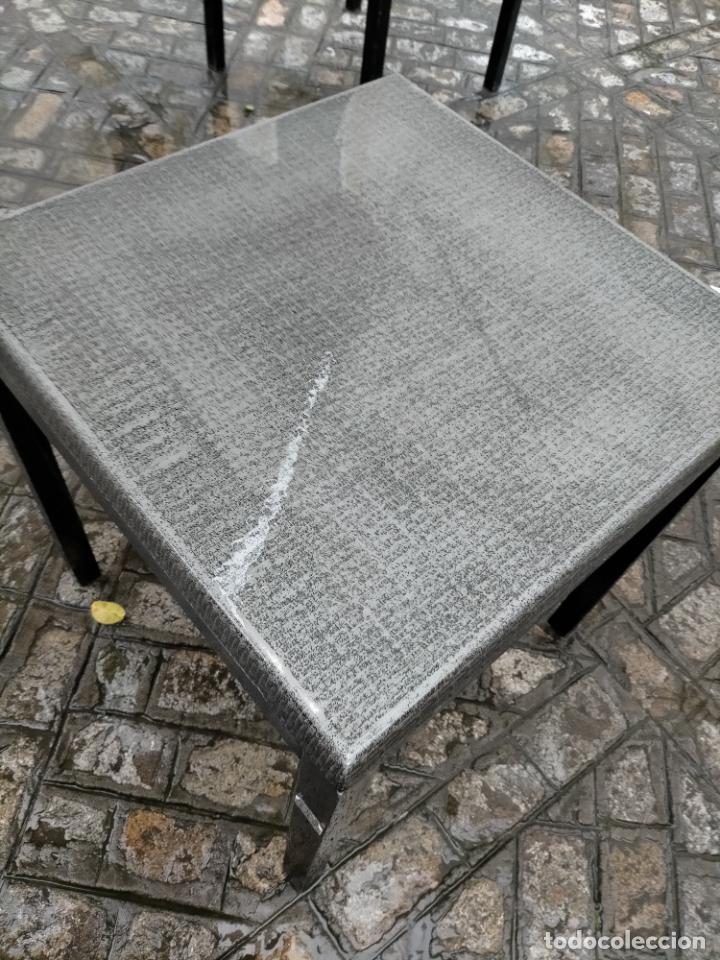 Antigüedades: SOLO RECOGIDA CADIZ CAPITAL CENTRO 24 sillas y 6 mesas de terraza BAR RESTAURANTE - Foto 16 - 229701075