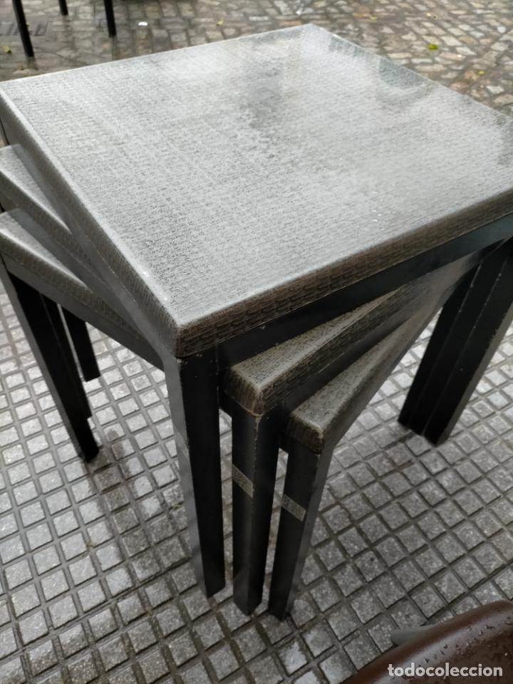 Antigüedades: SOLO RECOGIDA CADIZ CAPITAL CENTRO 24 sillas y 6 mesas de terraza BAR RESTAURANTE - Foto 4 - 229701075