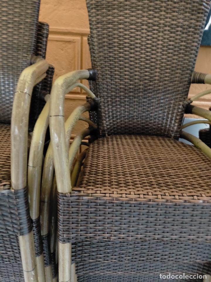 Antigüedades: SOLO RECOGIDA CADIZ CAPITAL CENTRO 24 sillas y 6 mesas de terraza BAR RESTAURANTE - Foto 18 - 229701075